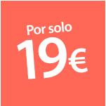 Por solo 19 euros